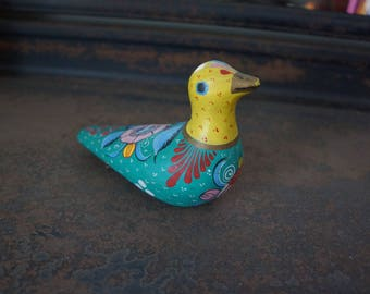 Brightly Colored Tonala Duck Made in Mexico