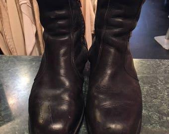 Black Men Chelsea Boots