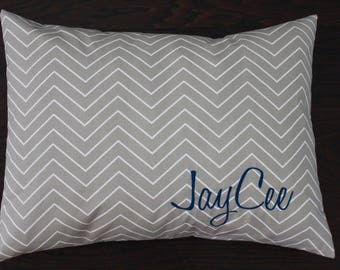 Custom Pet Bed Cover - Personalized Dog Pillow Cover - Dog Bed Duvet Cover - Monogram Pet Bed - Pet Gift