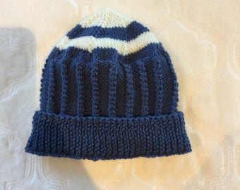 Toddler knitted beanie, toddler wool beanie, toddler beanie, baby beanie, baby knit hat, toddler knit hat, wool baby beanie, boy knit hat.
