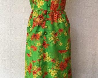 1970's Aloha Dress