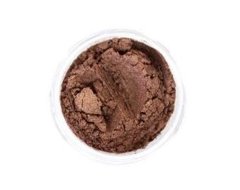 All Natural Makeup - Deep Bronze Eye Shadow- Eye Makeup - Just Cause