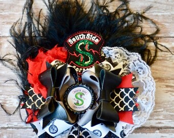 Southside Serpents OTT Hair Bow