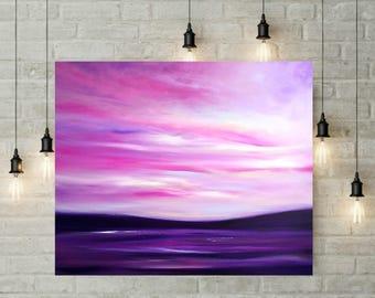 Seascape, Time to Reflect (XL, purple)