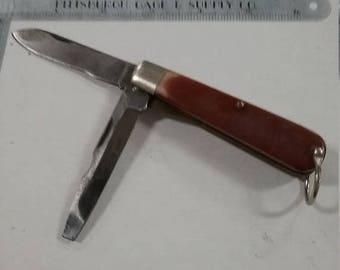 10% OFF 3 day sale Vintage used  camillus 27 pocket knife