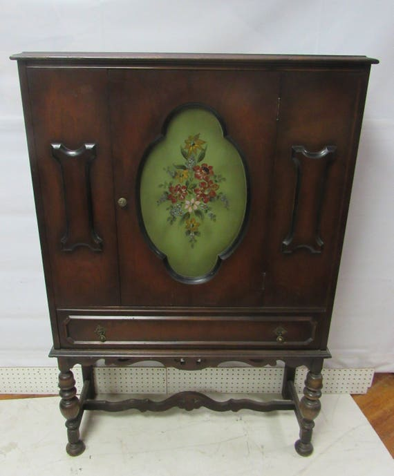 Art Deco Cabinet Bookcase, display or bar