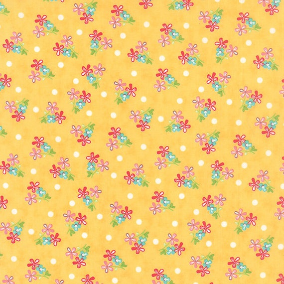 Corey Yoder Little Miss Shabby Prairie Sprigs Quilt Fabric. 29003-15