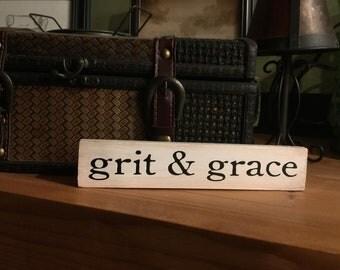 Grit & Grace Shelf Sitter Block