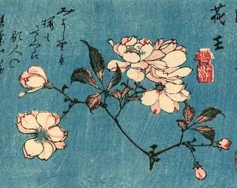 Japanese art flowers f...