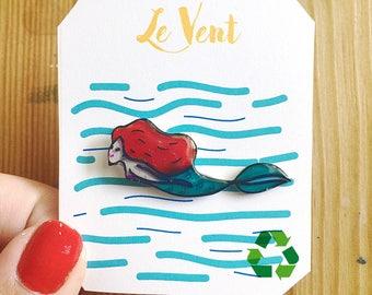 Seim Little Mermaid - Recycled Plastic Pin