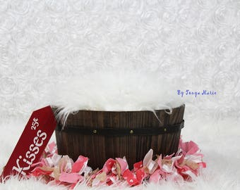 Digital Backdrop, Newborn Digital Background for Valentines Day, Can be used for compositing, props