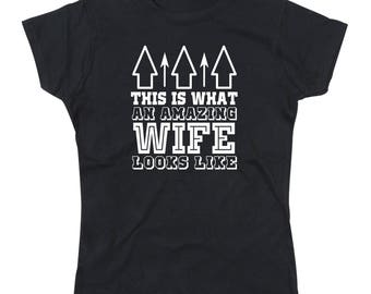 Ladies Amazing Wife T-Shirt