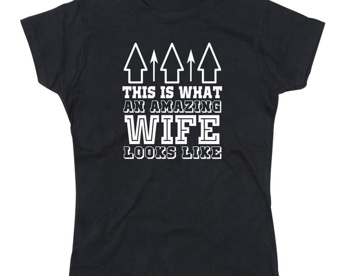 Ladies Amazing Wife T-Shirt