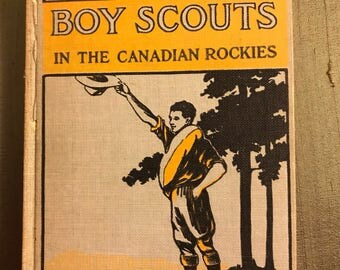 1911 Boy Scouts in the Canadian Rockies