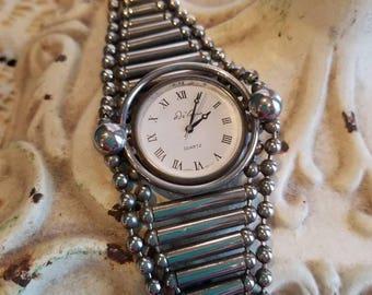 Silver Vintage De Vanna Watch