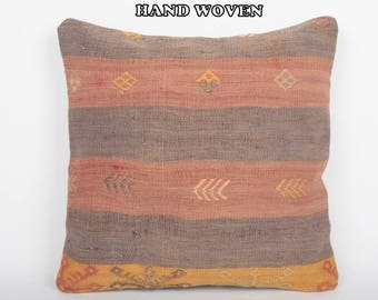 designer pillow 18x18 floor pillow case throw pillow set kilim pillow cover bedroom decor decorative pillow bedding pillow boho decor C1778
