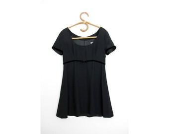 Vintage D&G Black Dress // Dolce and Gabbana Little Black Dress