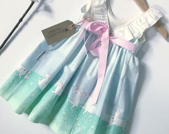 Adele Dress - Sarah Jane Magic Unicorn