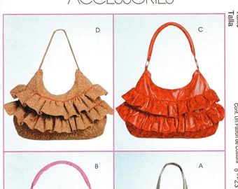 McCall's Fashion Accessories Pattern 5899 HOBO BAGS