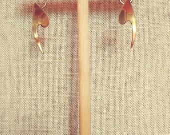 Copper Rebajes Earrings