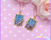 Jellyfish sea necklace cute and kawaii lolita style