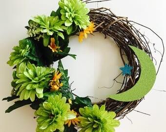 Eid decoration, Eid Wreath, Ramadan Wreath,
