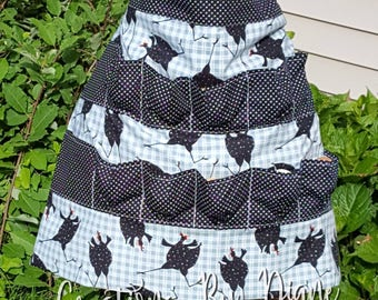 Poultry Egg Gathering Apron, child and adult size available