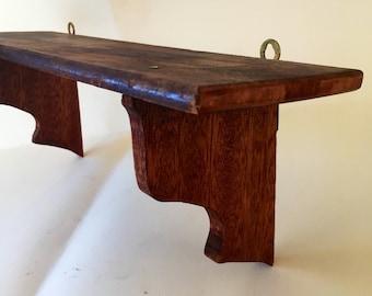 Handmade Vintage Wood Shelf