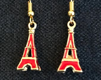 Eiffel Tower Earrings Paris Earrings