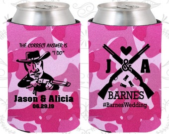 Shotgun Wedding, Wedding Reception, Country Wedding, Southern Wedding, Redneck Wedding, Wedding Beer Coolies (563)