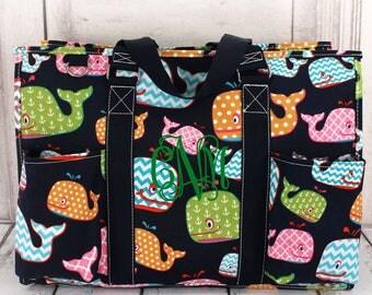 Diaper bag, Monogrammed diaper bag, Personalized diaper bag, Boys diaper bag, Girls diaper bag, Organizer tote, Women's tote bag, Tote bag
