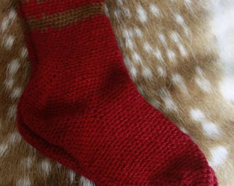 100 % wool chemicly dyed needlebound socks