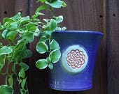 Purple Ceramic hanging Wa...