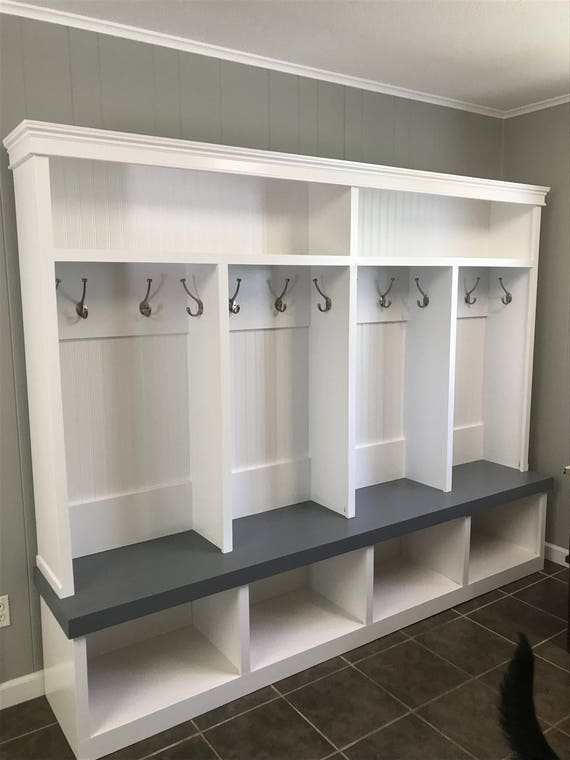Mudroom Locker Entryway Locker 4 Cubby Extra Large