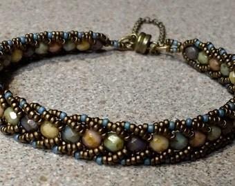 Desert palm bracelet
