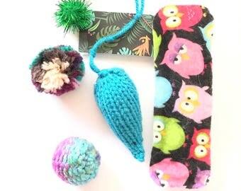 Weird Cat Toys, Summer Tropical Package, Mice Cat Toys, Ball Cat Toys, Cat Birthday, Catnip Cat Toys, Kitten Play, Felt Cat Toys