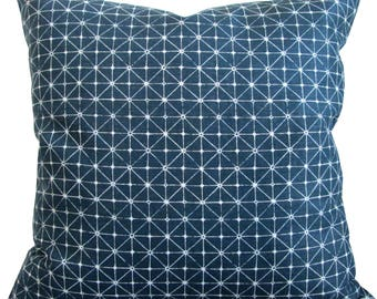 High End Designer Decorative Pillow Cover-Fanorona Lagoon-Accent Pillow-Sofa Pillow-Pillow Cover-Single Sided