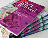 ArtJournal, mi diario artístico paso a paso - libro de técnicas paso a paso