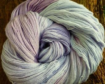 MERINO, SILK, Laceweight, Mollycoddle Yarns, Hand dyed wool, Lace, 100 gms, 800 mts