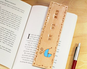 Mum To Be Bookmark Mum To Be Gift Leather Bookmark Gift For New Mum Gift Baby Shower Pregnancy Gift Expectant Mother Gift Baby Boy Bookmark