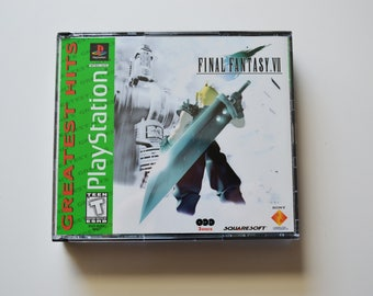 Final Fantasy 7 for the PlayStation (CIB)