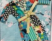 Japanese fabric KIMONOS for Barbie / poppy parker / 1:6 / blythe