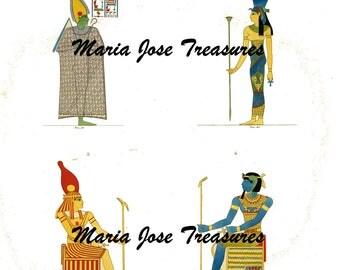 Vintage Images from Egypt 1800s - Digital Download