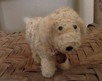 Needle Felted Wool Dog