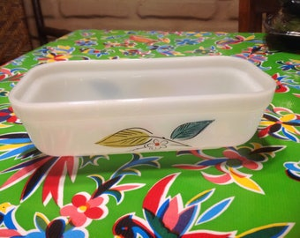 Vintage Fire King oven Ware casserole dish without lid