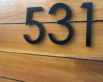 House Numbers Etsy - Contemporary house numbers