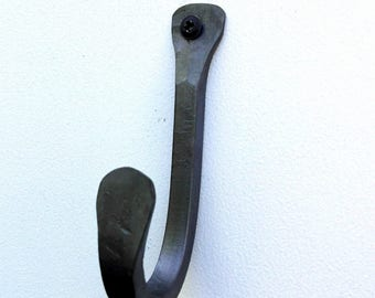 Coat Hook, hand forged in UK