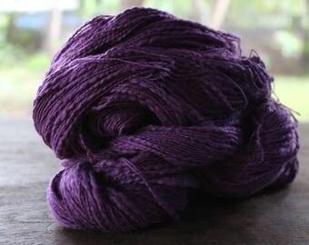 Natural Slub Cotton Yarn - Light Purple 19