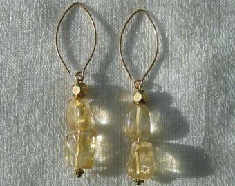 Citrine Earrings