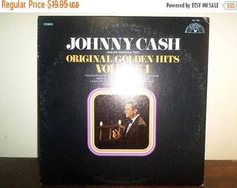 Save 30% Today Vintage 1969 Vinyl LP Record Johnny Cash Original Golden Hits Volume One Near Mint Condition 10270